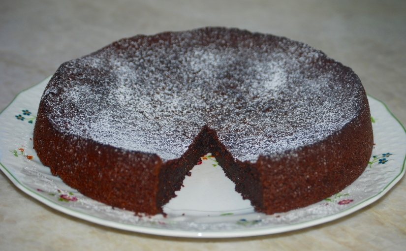 Dark and Sumptuous Chocolate Cake