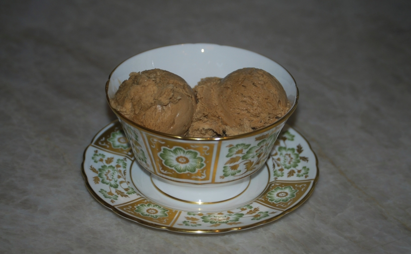 One-Step No-Churn Coffee IceCream
