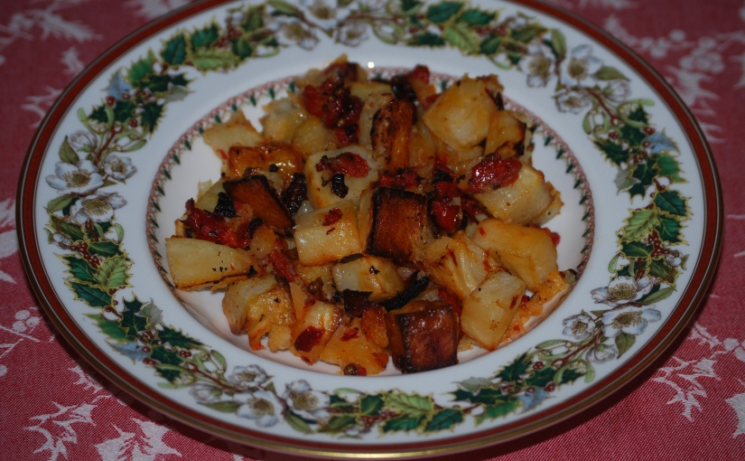 Potato and Pepper Bake