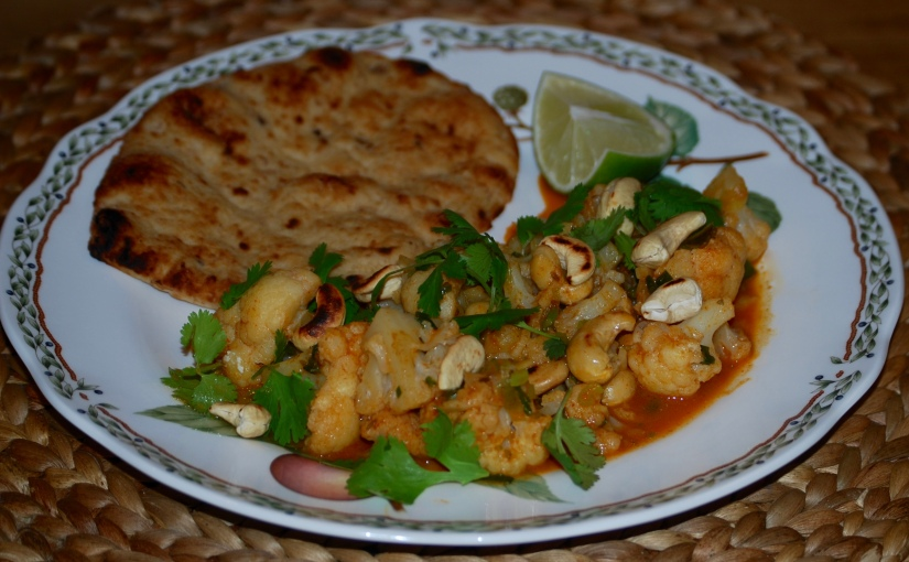 Cauliflower and Cashew Nut Curry