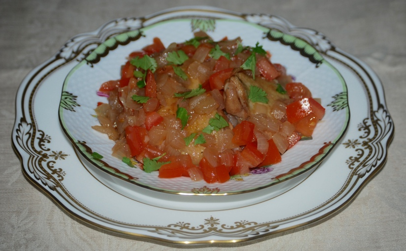 Sicilian Vinegar Chicken