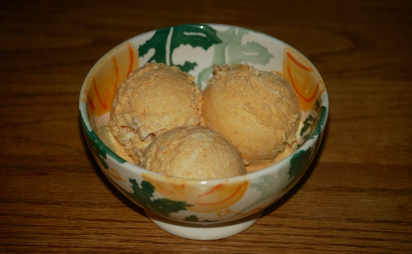 No-Churn Brandied Pumpkin IceCream