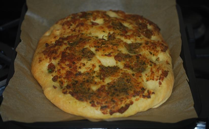 Garlic and ParsleyFlatbreads