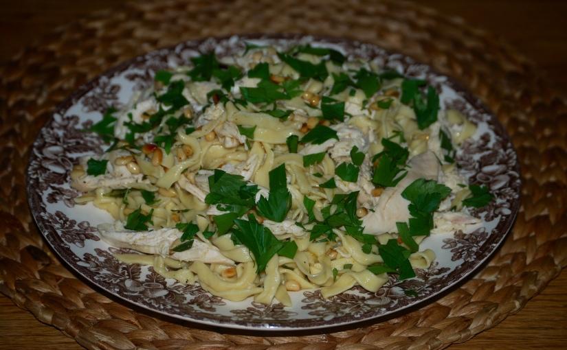 Tagliatelle with Chicken from the VenetianGhetto
