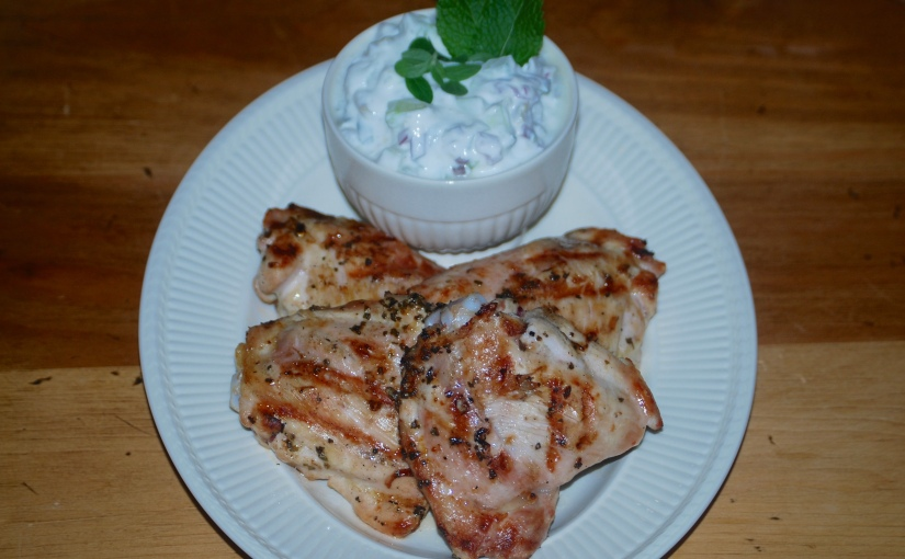 Chicken with Greek Herb Sauce