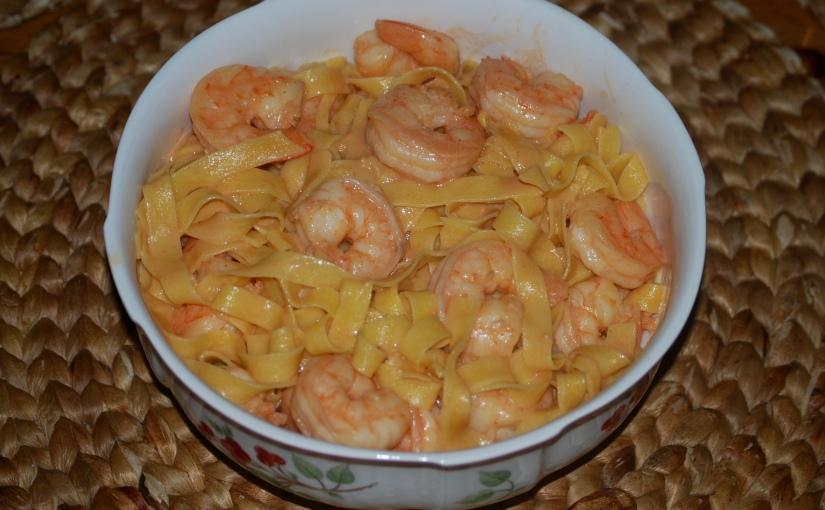 Shrimp Pasta Rosa