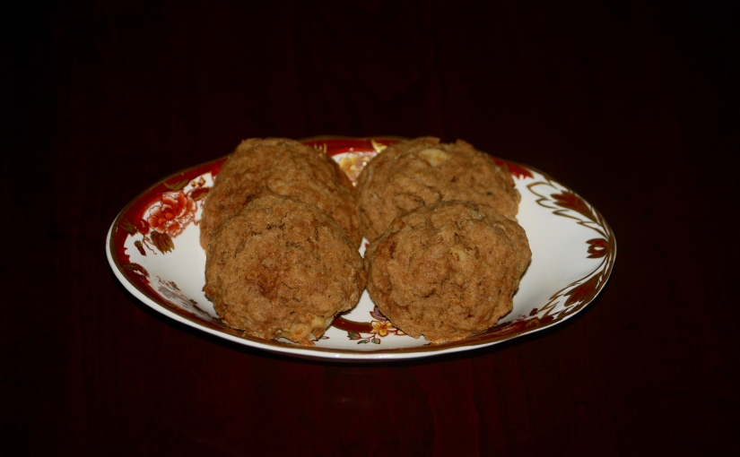 Coffee and Walnut Splouge Cookies