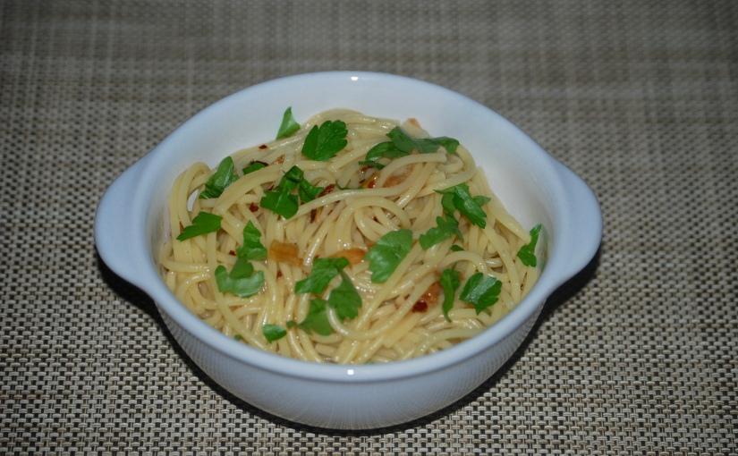 Spaghetti Aglio OlioPeperoncino