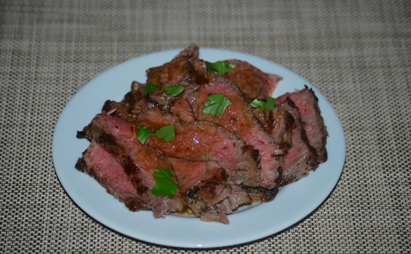 Vodka-Marinaded Steak