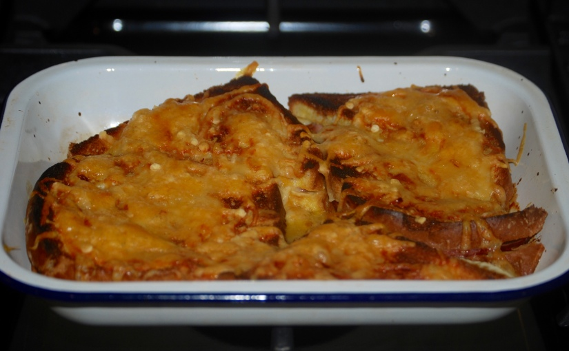 Croque Monsieur Bake