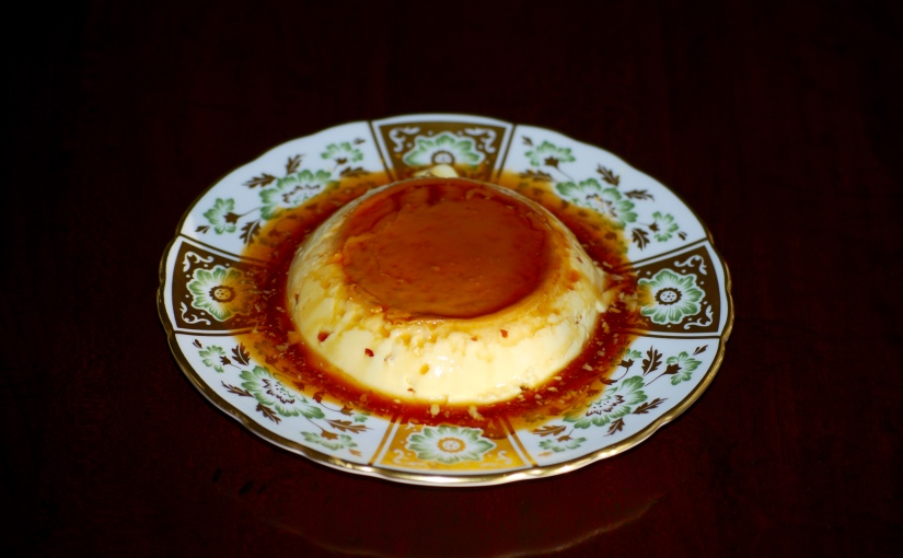 Creme Caramel for One