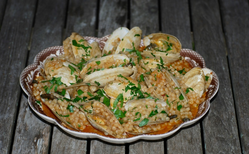 Sardinian Couscous withClams