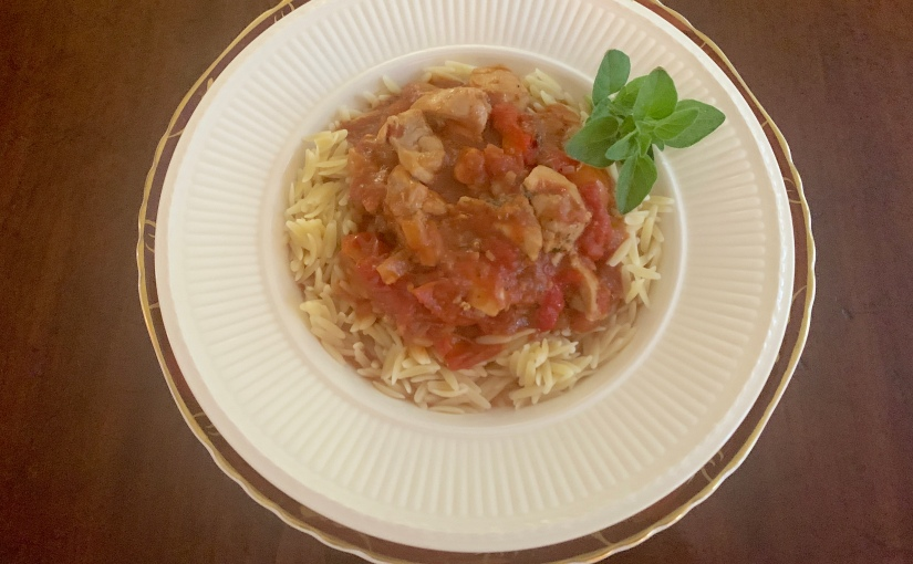 Chicken with Tomatoes andPeppers